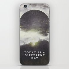 Today is a different day iPhone & iPod Skin