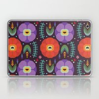 Flowerfully Folk Laptop & iPad Skin