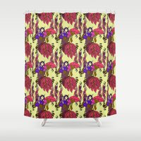Jamaican Botanicals - Pl… Shower Curtain