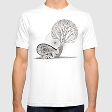 untitled II Mens Fitted Tee White SMALL