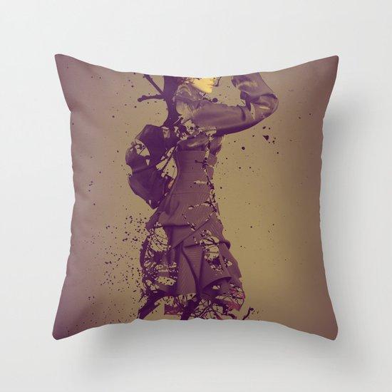 Beauty Obsolete Throw Pillow