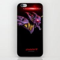 Evangelion Unit 01 - Reb… iPhone & iPod Skin