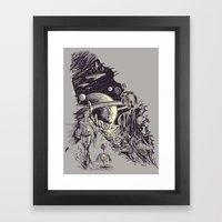 Stranded On Alpha Centau… Framed Art Print