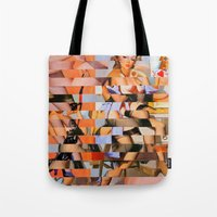 Glitch Pin-Up: Whitney Tote Bag