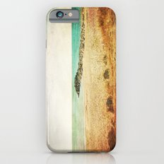 Beach in southern France - summer memories iPhone 6 Slim Case