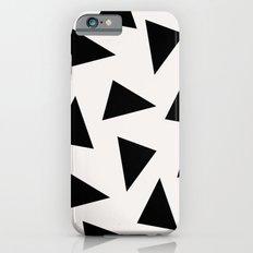 black triangle pattern II iPhone 6 Slim Case