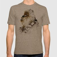 Chewi Mens Fitted Tee Tri-Coffee SMALL