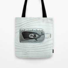 Whale in a Bottle | Treasure and Skull Tote Bag