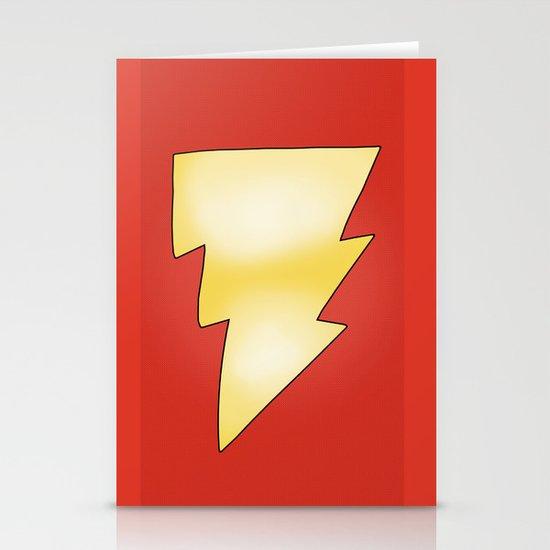 Hello my Name is Shazam! Stationery Card