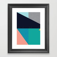 FLEECE, FOG, FARALLON 2 Framed Art Print