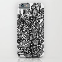 Zen Tangle Feather iPhone 6 Slim Case