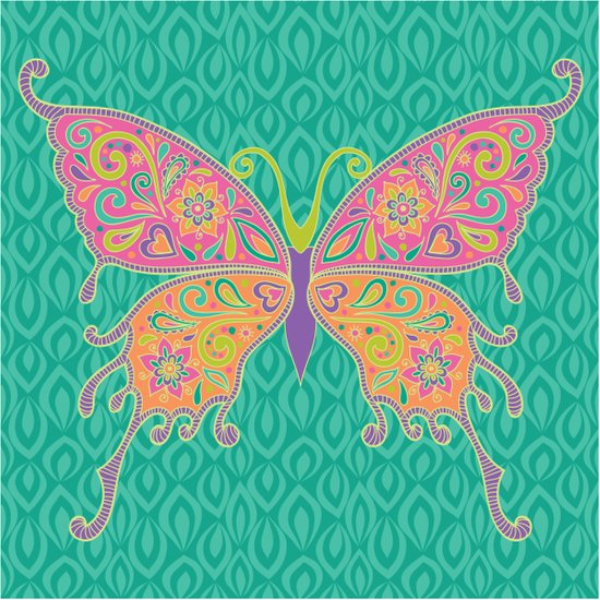 Butterflies Are Free To Fly... Art Print