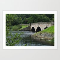 Lindley Wood Reservoir Art Print