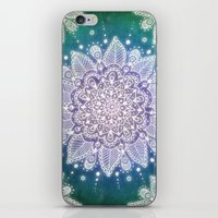 Peacock Mandala iPhone & iPod Skin