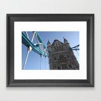 Tower Bridge, London (20… Framed Art Print