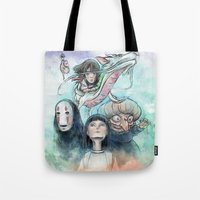 Spirited Away Watercolor… Tote Bag