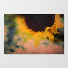 Sunflower II (mini series) Canvas Print