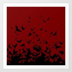 An Unkindness of Ravens Art Print