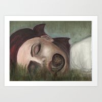 Estivation Art Print
