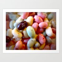 Jelly Beans Art Print