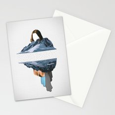 The Pace Is Glacial Stationery Cards