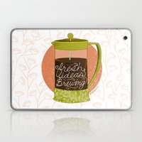French Pressed Ideas  Laptop & iPad Skin