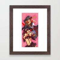girlfriends la kill Framed Art Print