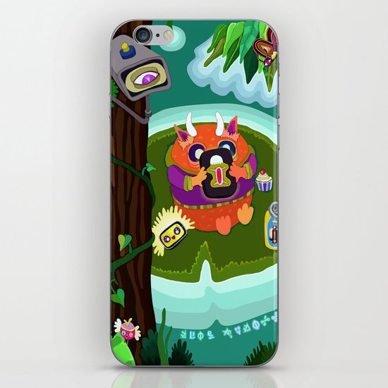 Fred Tifenn iPhone & iPod Skin