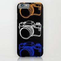 White On Black Camera iPhone 6 Slim Case