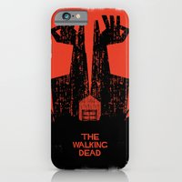 iPhone & iPod Case featuring The Walking Dead. by David