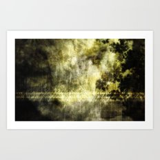 SCIENTIFICALLY I AM INCLINED TO BELIEVE IN THE EXISTENCE OF LIGHT [ex. b] Art Print