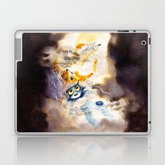 Little Owl Boy and the Milky Way Laptop & iPad Skin