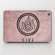 Avatar Last Airbender Elements - Fire iPad Case