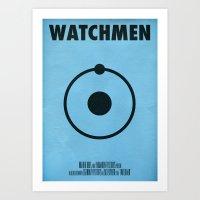 Watchmen - Dr.Manhattan Art Print
