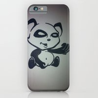 Panda With Attitude iPhone 6 Slim Case