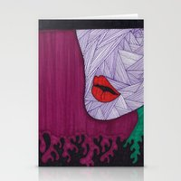 All About the Lips 10 Stationery Cards