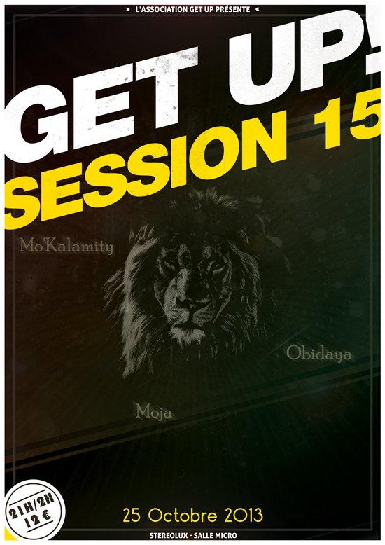 Concert : Get Up Session Art Print