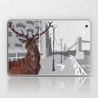Cityscape Deer Laptop & iPad Skin