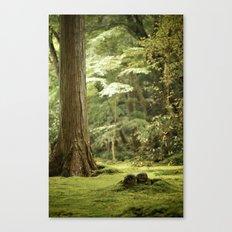 Ohara Jizo, Kyoto Canvas Print