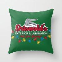 Griswold's Exterior Illumination Throw Pillow