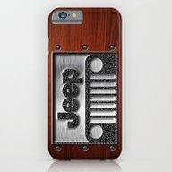 Embossed Steel Jeep Logo… iPhone 6 Slim Case