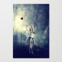 Forever chasing love Canvas Print