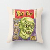 Bat Boy: The Musical! Throw Pillow