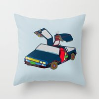 Cool Boys Like Flying Ca… Throw Pillow