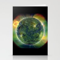 The SUN by Solar Dynamics Observatory satellite Print Stationery Cards
