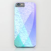 iPhone Cases featuring Soft Pastel Confetti Abstract by Judy Palkimas