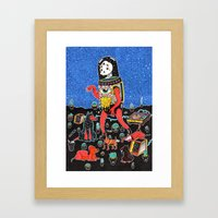 perric Framed Art Print
