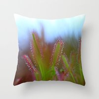 Fairy Like Sundew - JUST… Throw Pillow