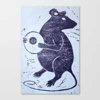 The Rat Canvas Print