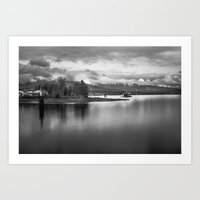 A View Of Stanley's Park Art Print